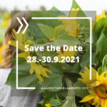 Maaseutuparlamentti Save the Date 28.-30.9.2021